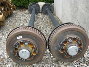 old nev-r-lube axles
