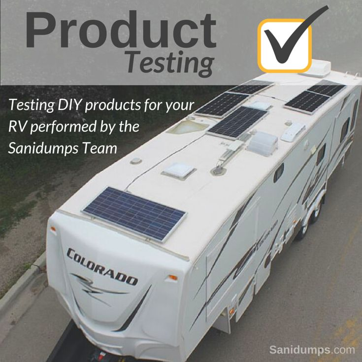RV Product Testing
