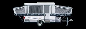 rv class tent trailer