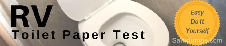 Toilet Paper Test