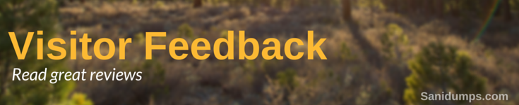 Visitors comments & feedback